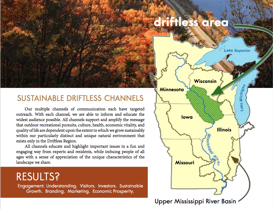 Sustainable Driftless Channels / Publications