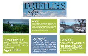 Driftless Notes description