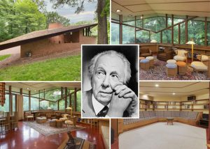Frank Lloyd Wright and home he designed