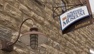sign for National Brewery Museum in Potosi