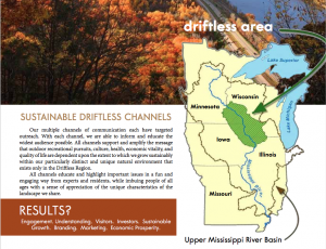 Sustainable Driftless Channels