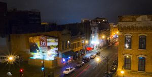 3rd Street in La Crosse Wis at Night (c) Timothy Jacobson
