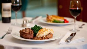 surf and turf - steak and lobster