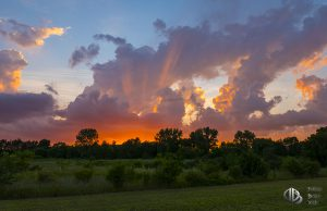 fiery furnace of the sky - sunset pic (c) Timothy Jacobson